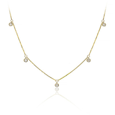 14K I1 Diamond Gold Necklace (CIRARI)