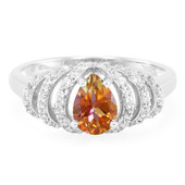 Twilight Topaz Silver Ring