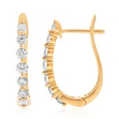 14K I1 Diamond Gold Earrings (CIRARI)