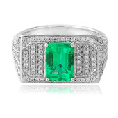 18K Colombian Emerald Gold Ring (de Melo)