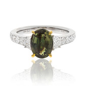 18K Alexandrite Gold Ring