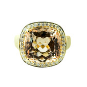 14K Brazilian Morganite Gold Ring (de Melo)