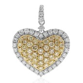 14K SI Yellow Diamond Gold Pendant (CIRARI)