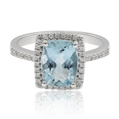 14K Aquamarine Gold Ring