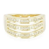 9K Diamond Gold Ring