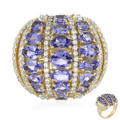 9K Tanzanite Gold Ring (Adela Gold)