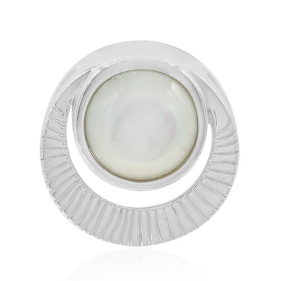 Mother of Pearl Silver Pendant (MONOSONO COLLECTION)