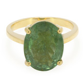 18K Brazilian Paraiba Tourmaline Gold Ring