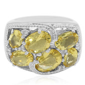 Heliodore Silver Ring