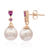 Ming Pearl Silver Earrings