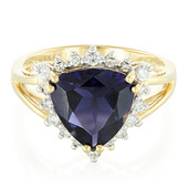 18K Ceylon Iolite Gold Ring