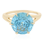 9K Capri Topaz Gold Ring (PHANTASIA)