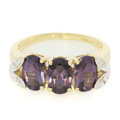 18K Mahenge Purple Spinel Gold Ring