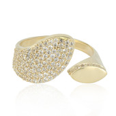 9K Zircon Gold Ring (Adela Gold)