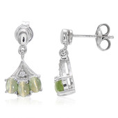 Cat´s Eye Alexandrite Silver Earrings (Molloy)