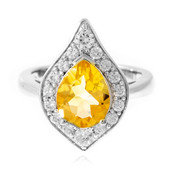 Citrine Silver Ring (Memories by Vincent)