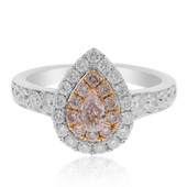 18K SI1 Pink Diamond Gold Ring (CIRARI)