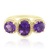 9K Moroccan Amethyst Gold Ring
