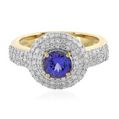 14K AAA Tanzanite Gold Ring