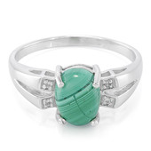 Malachite Silver Ring