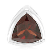 Mozambique Garnet Silver Pendant (MONOSONO COLLECTION)