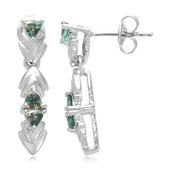 Brazilian Alexandrite Silver Earrings (Cavill)