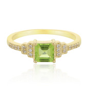 9K Kashmir Peridot Gold Ring