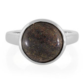 Matrix Opal Silver Ring