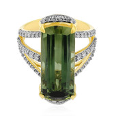 18K Pirineu Tourmaline Gold Ring