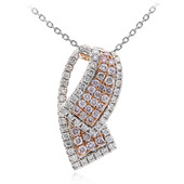 14K SI Pink Diamond Gold Necklace (CIRARI)