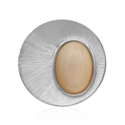 Moonstone Silver Pendant (MONOSONO COLLECTION)