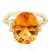 14K Citrine Gold Ring (CIRARI)