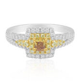 18K SI Orange Diamond Gold Ring (CIRARI)