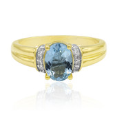 9K Medina Aquamarine Gold Ring