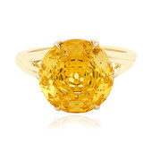 9K Imperial citrine Gold Ring (PHANTASIA)