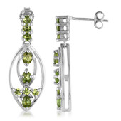 9K Ambanja Demantoid Gold Earrings