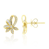 18K Diamond Gold Earrings