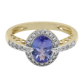 9K Tanzanite Gold Ring