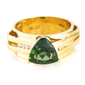 14K Chrome Apatite Gold Ring (de Melo)