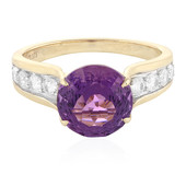 9K AAA Kalomo Amethyst Gold Ring (PHANTASIA)