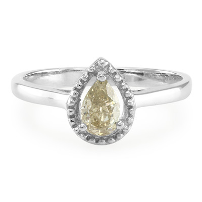 18K SI Argyle Fancy Diamond Gold Ring