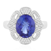 18K AAA Tanzanite Gold Ring (AMAYANI)