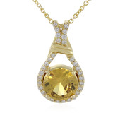 18K Champagne Zircon Gold Necklace (AMAYANI)