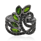 Russian Diopside Silver Ring (Memories by Vincent)