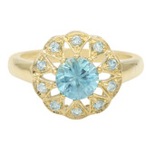 9K Ratanakiri Zircon Gold Ring