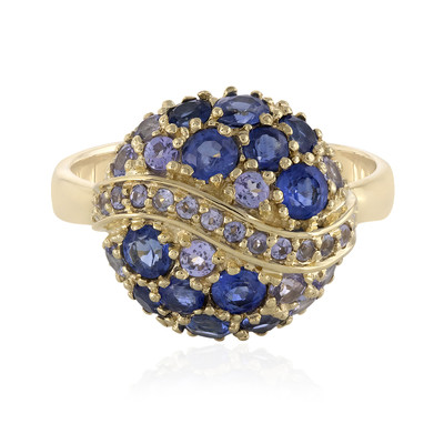 9K Kyanite Gold Ring (Adela Gold)