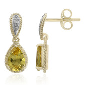 9K Heliodore Gold Earrings