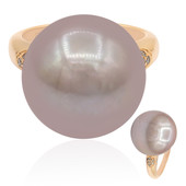 9K Pink Ming Pearl Gold Ring