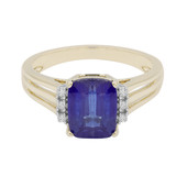 9K Kyanite Gold Ring