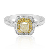 18K Yellow Diamond Gold Ring (CIRARI)